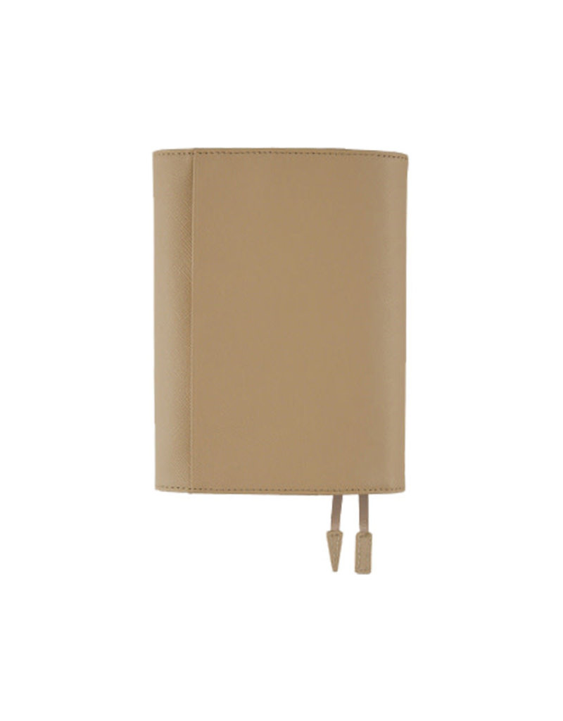 Hobonichi A6 Leather Classic Beige Hobonichi Techo 2020