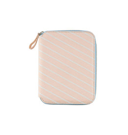 Hobonichi A6 Plain Stripes Powder Pink Hobonichi Techo 2020