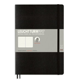 Leuchtturm Pocket Black  Softcover Notebook Dotted