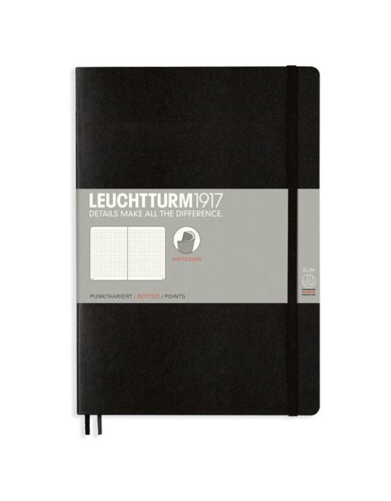 Leuchtturm Pocket Black  Softcover Notebook Dotted