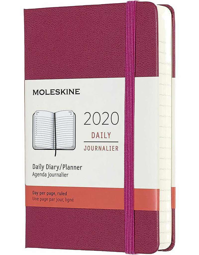 Moleskine 2020 12-month Weekly Hardcover Planner Snappy Pink
