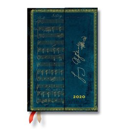 Paper Blanks Schubert Mini Horizontal Planner