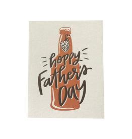 Hoppy Father's Day - Letterpress Card