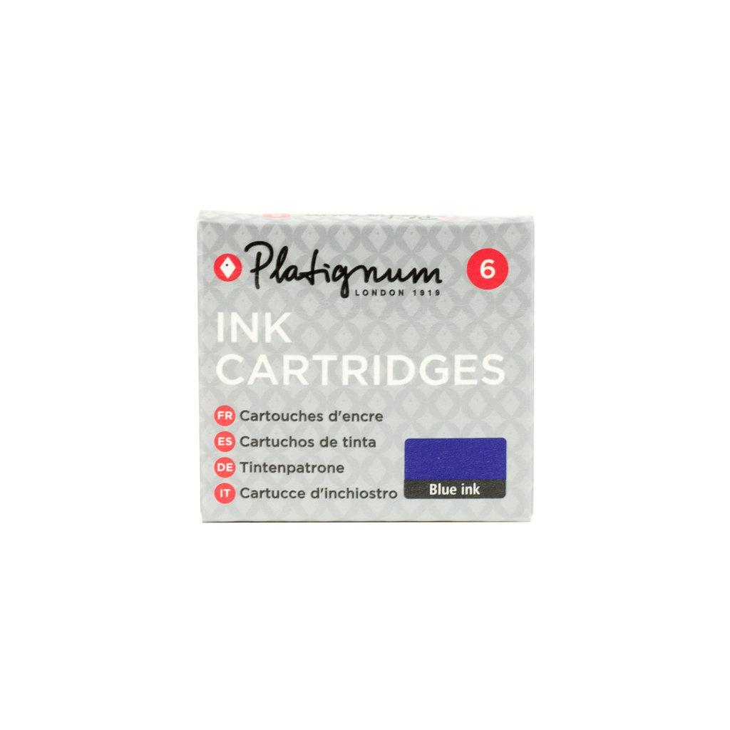 Platignum Platignum Ink Cartridges Blue