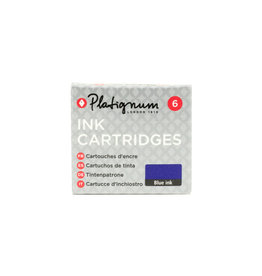 Platignum Platignum Ink Cartridges Blue