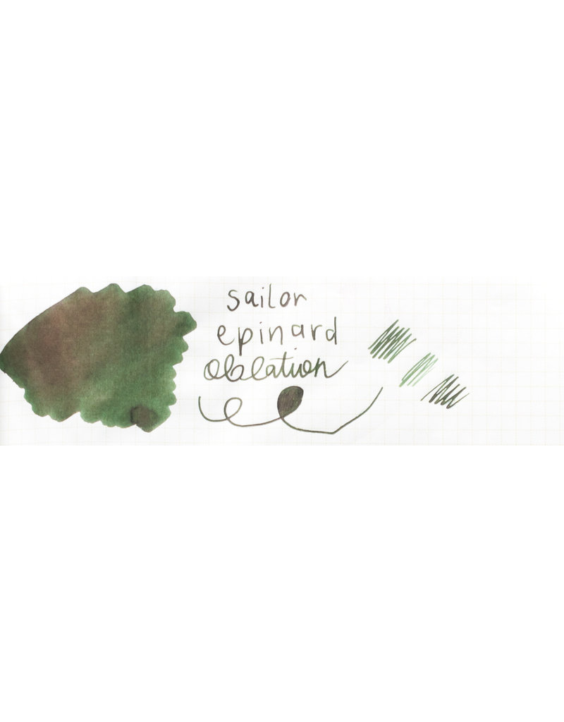 Sailor Sailor Jentle Bottled Ink Epinard