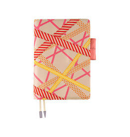 Hobonichi A5 Mt: Red x Yellow Mix Hobonichi Techo 2020