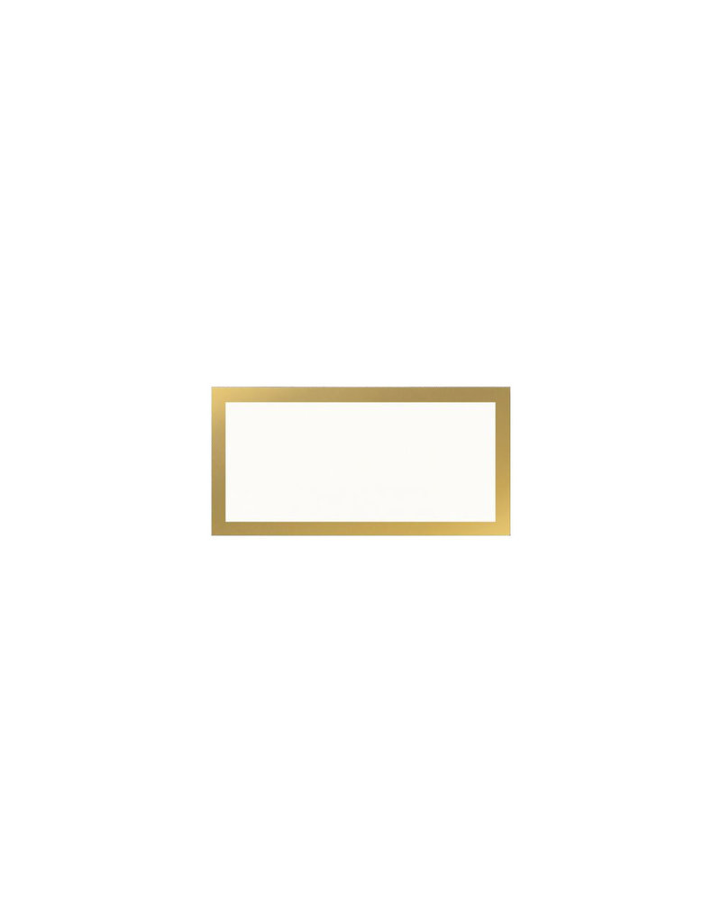 Vera Wang Papers Gold Bordered Place Cards