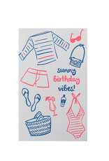 Sunny Vibes Birthday