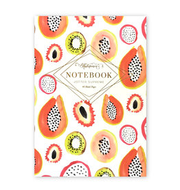 Mixed Fruit Blank Notebook