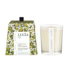 Laurel Leaf & Olive Candle