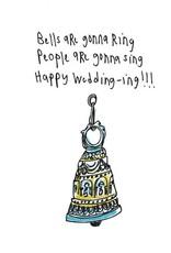 Happy Wedding Art Card