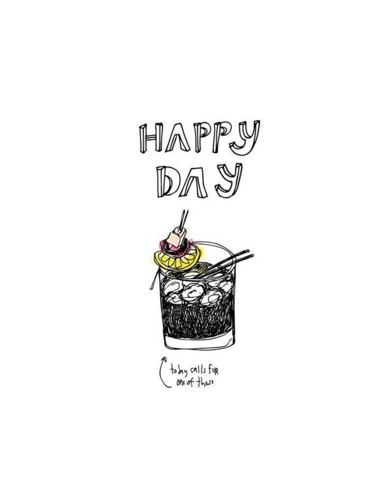 Happy Day Art Card