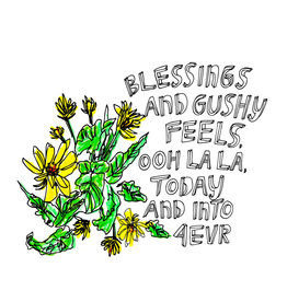 Blessings Art Card
