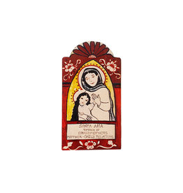 saint ana, patron saint of grandmothers, mother child relationships