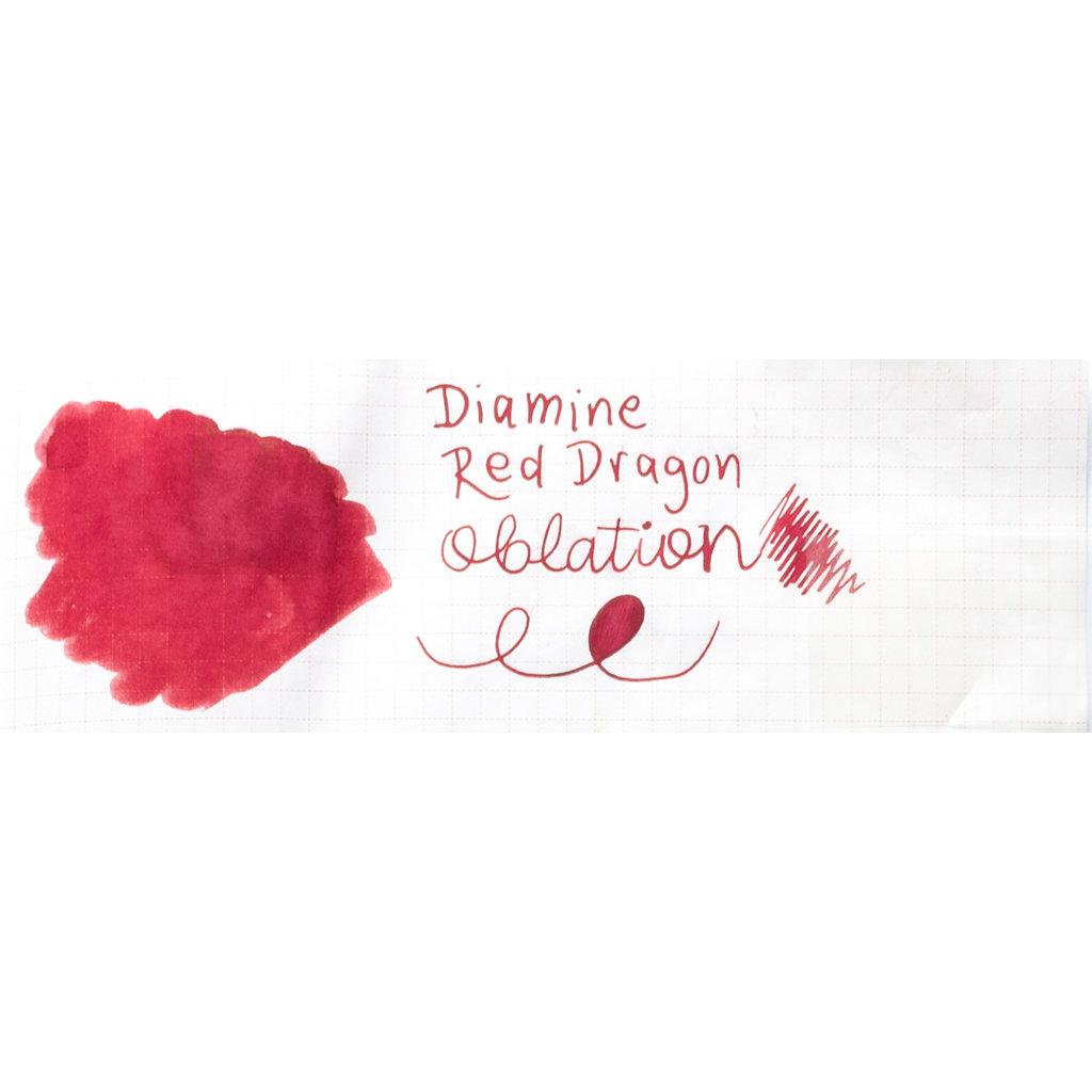 Diamine Diamine Red Dragon Bottled Ink 80ml