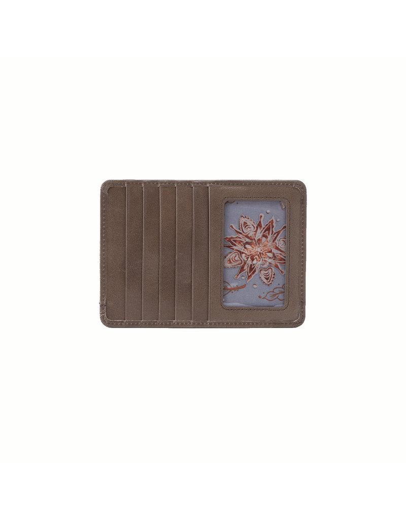 Hobo Euro Slide Wallet - Shadow