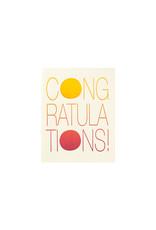 Fugu Fugu Press Twilight Rainbow Congratulations