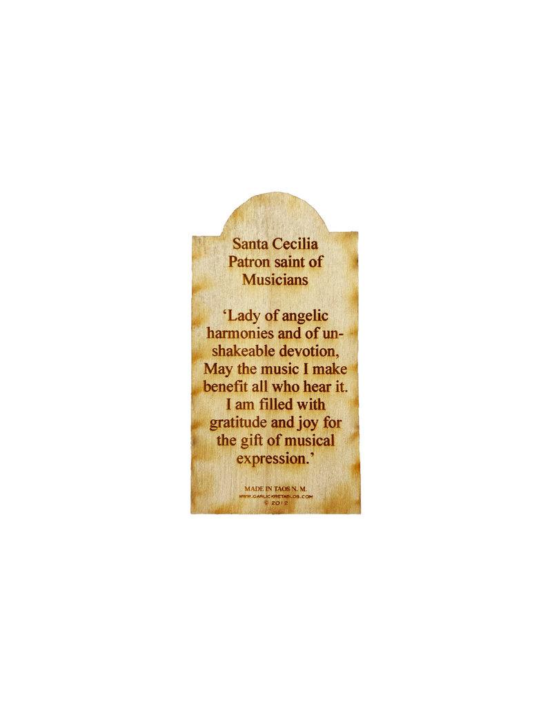 saint cecilia, patron saint of musicians