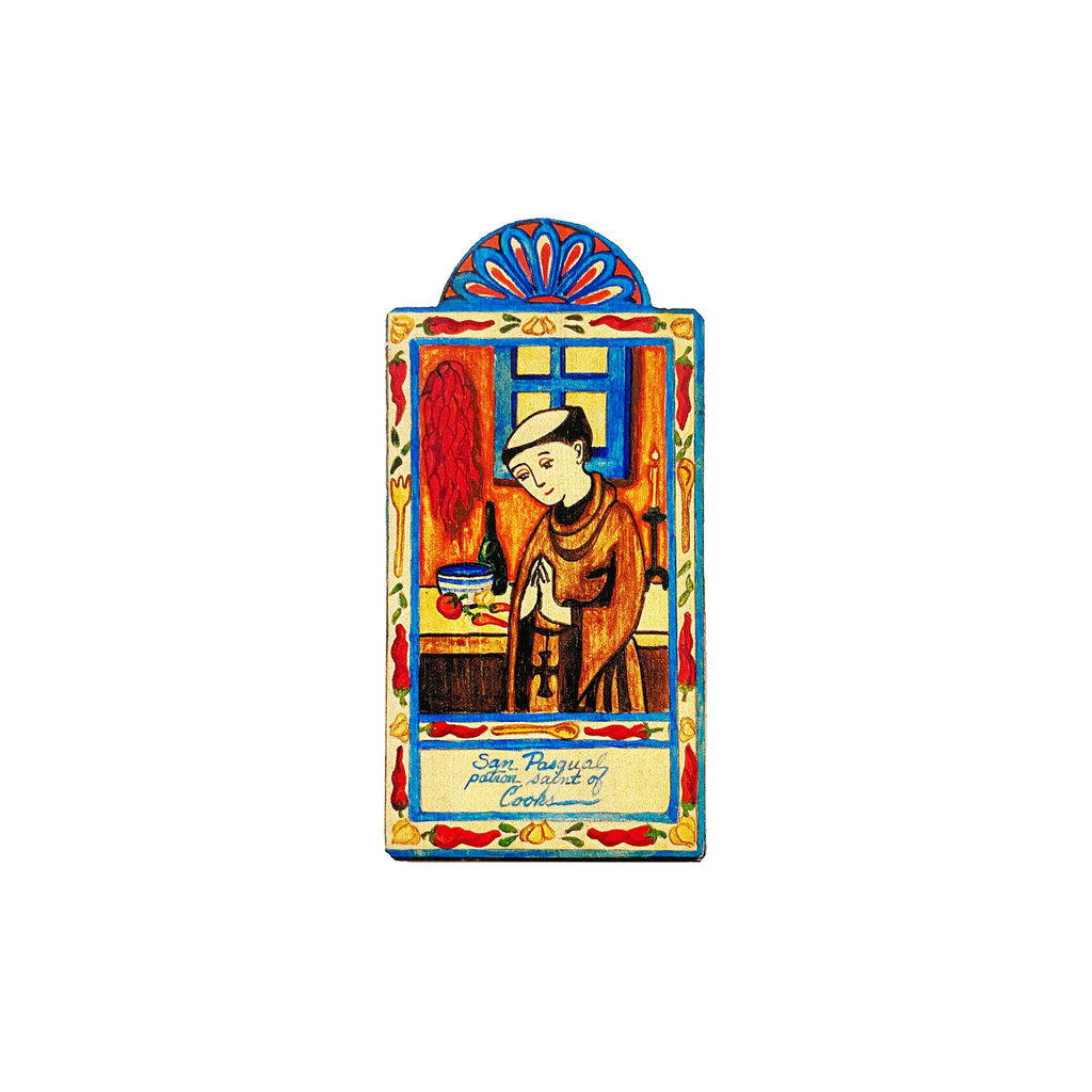 saint pasqual, patron saint of cooks