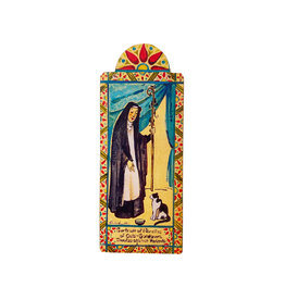 saint gertrude, patron saint of cats
