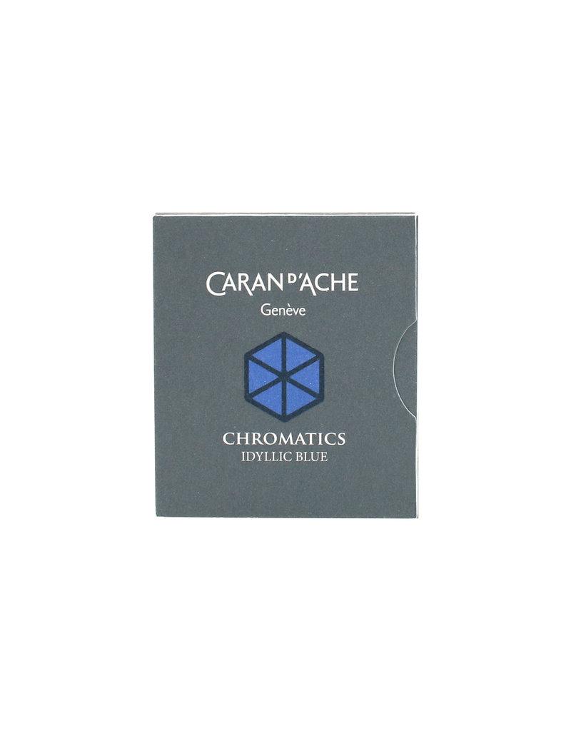 Caran d'Ache Caran d'Ache Ink Cartridges Blue