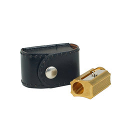 Brass Sharpener with Case