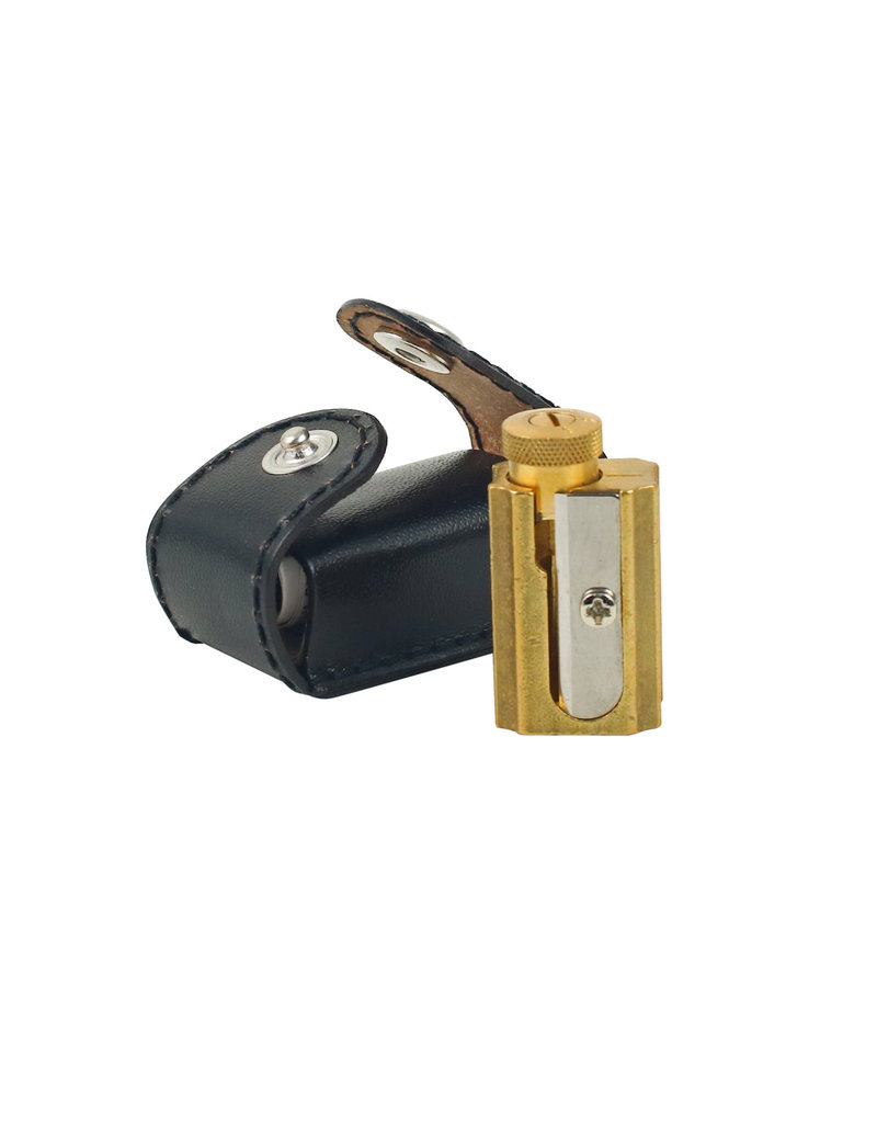 Brass Sharpener with Case