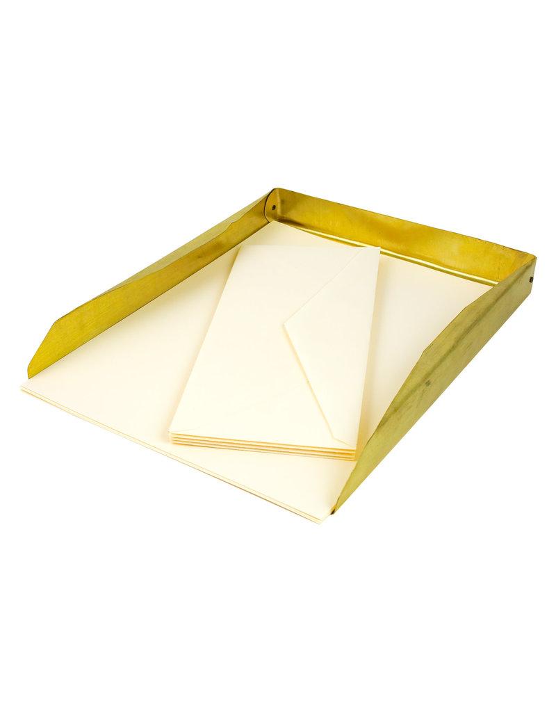 Handmade Brass Letter Tray