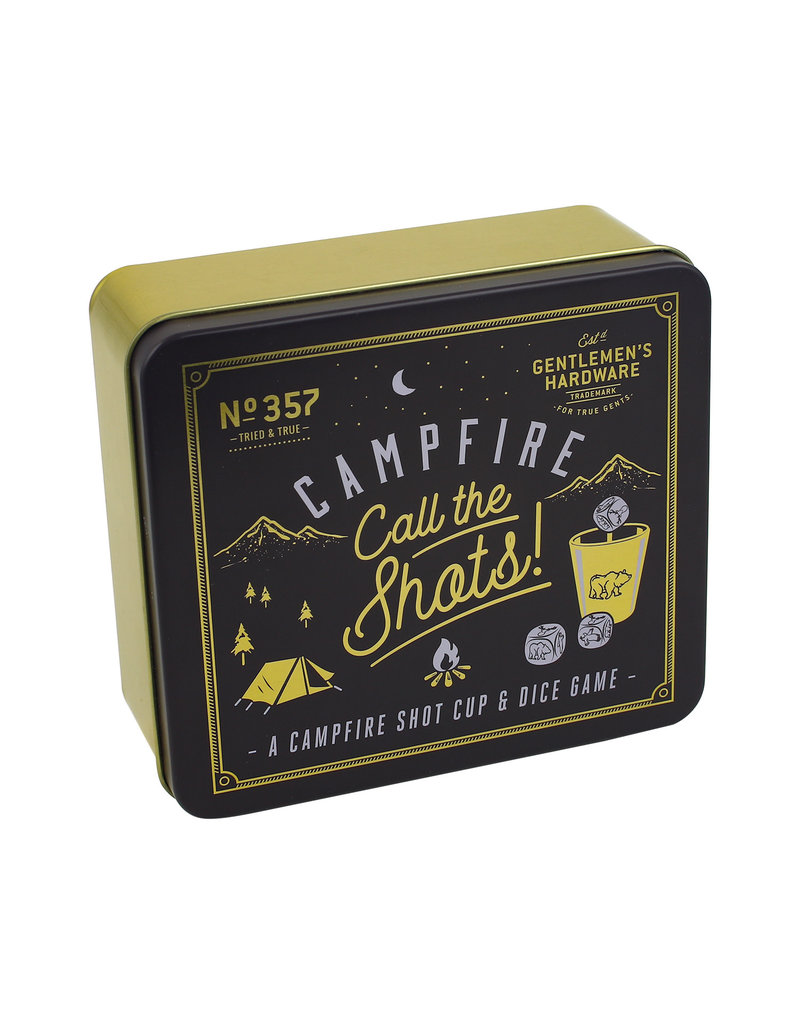 Campfire Call The Shots Shot Cup & Dice Game