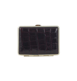 Pocket Case Bordeaux Croc