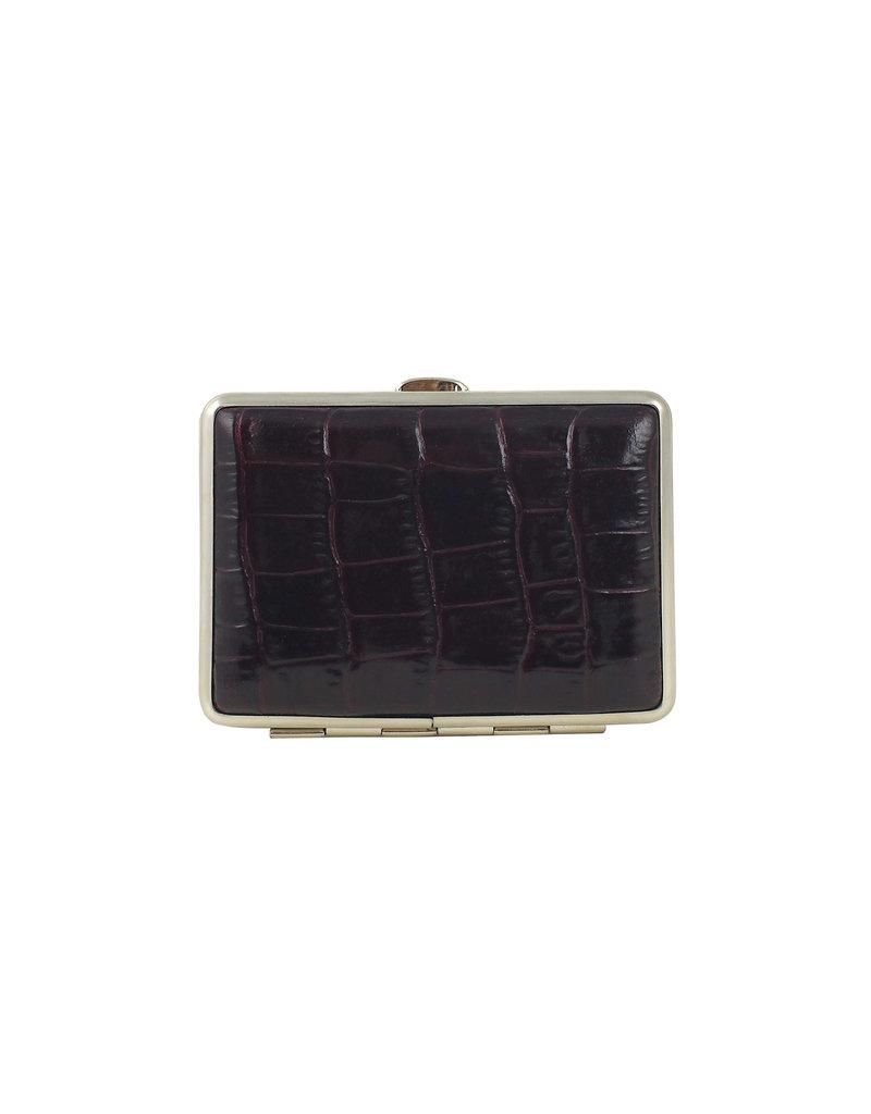 Pocket Case Bordeaux Croc