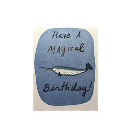 Big Wheel Press Magical Birthday Narwhal