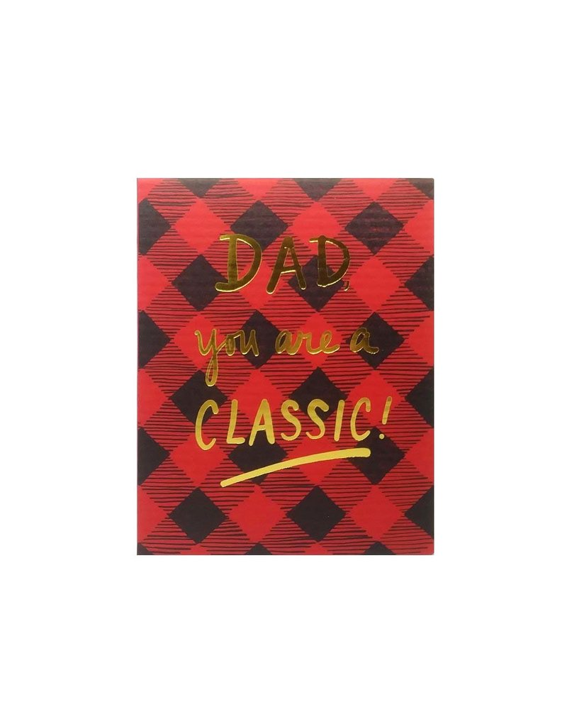 Big Wheel Press Classic Dad Card