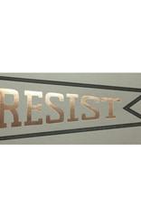 Big Wheel Press Resist Pennant