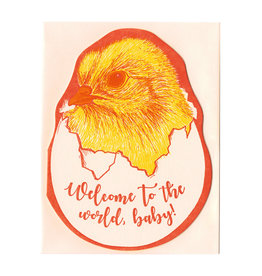 Baby Chick Baby Card