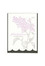 Blackbird Letterpress Botanical Lilac Celebration