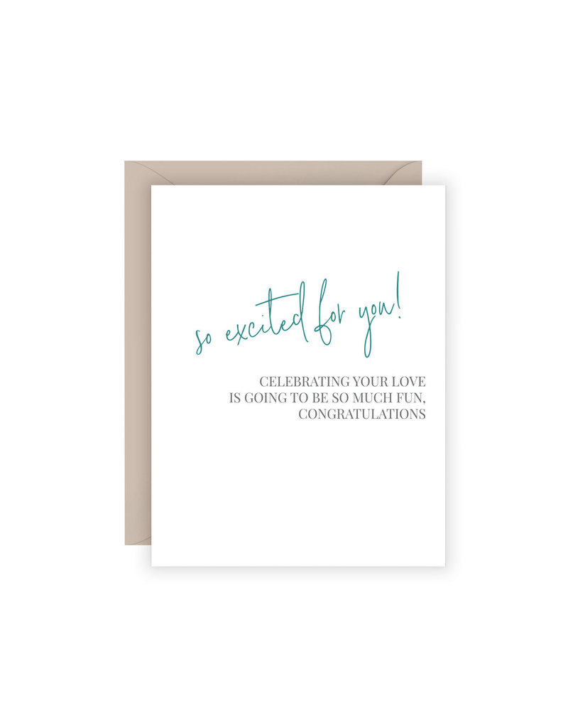 Carina Paper Co. Fun Engagement Card