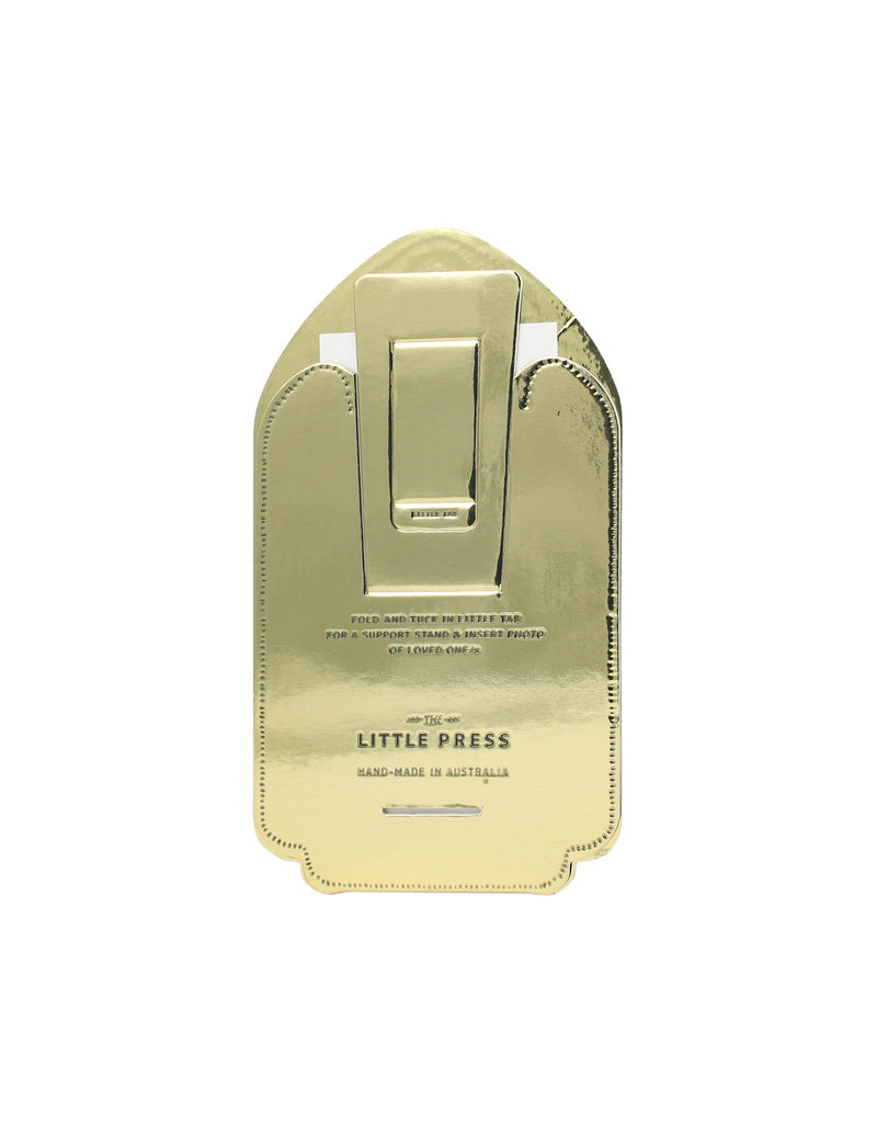 The Little Press Tall Gold Desk Frame