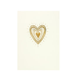 The Little Press Golden Heart Foil
