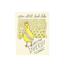 Million Ducks Birthday Card