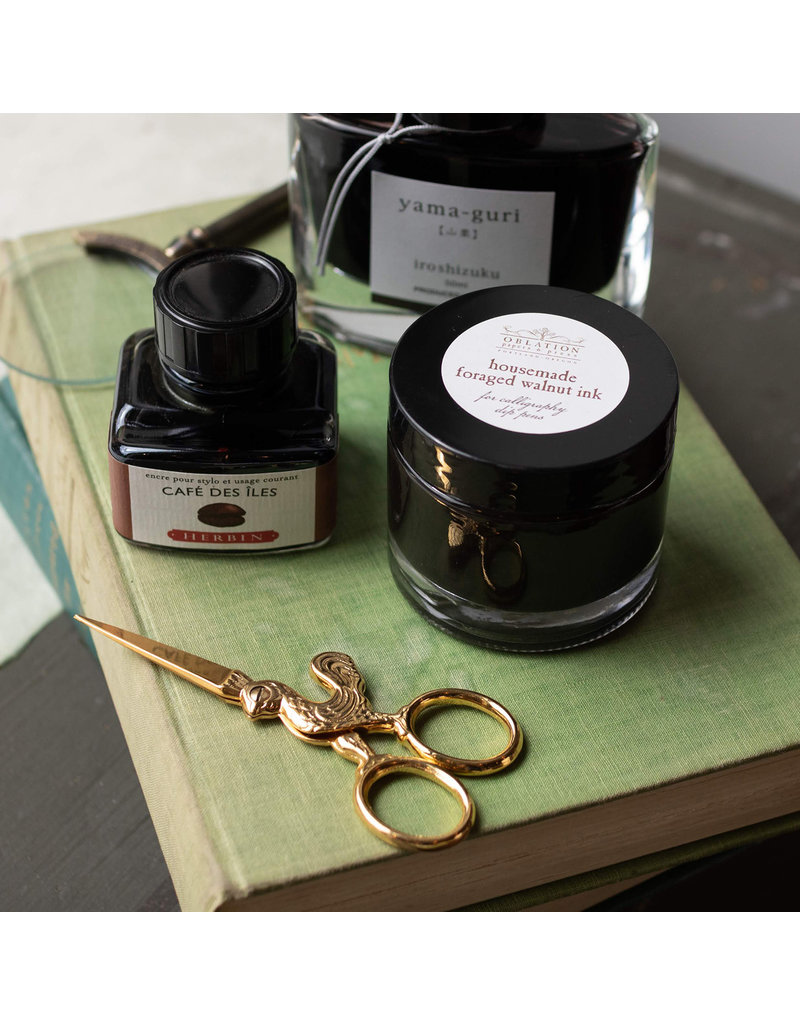 Oblation Papers & Press foraged walnut ink
