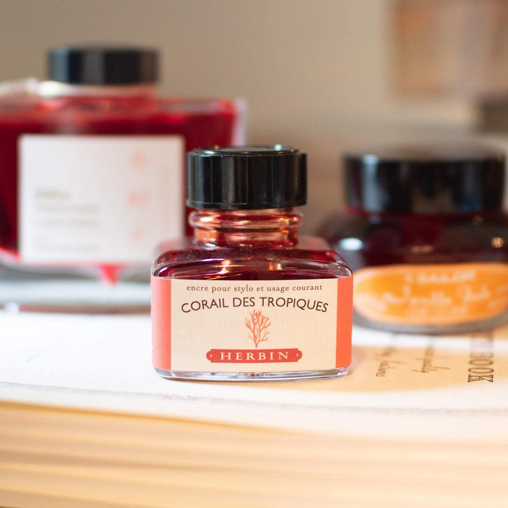 J. Herbin J Herbin Bottled Ink Corail des Tropiques 30ml
