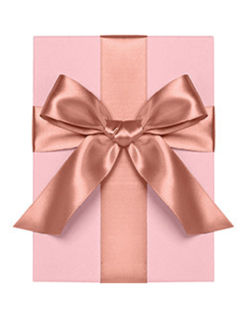"""Waste Not Paper Rose gold ribbon 1"""""""