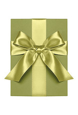 Waste Not Paper chartreuse ribbon 1""