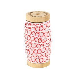 studio carta XOXO Brocaded Ribbon 5 yd