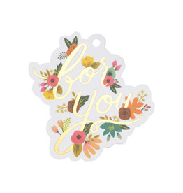 Rifle Paper Rosa Die Cut Gift Tag