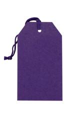 Gift Tag Purple