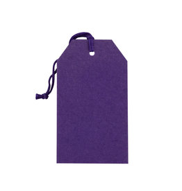 Gift Tag Purple