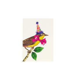 P. Flynn Design Birthday Bird Mini Card